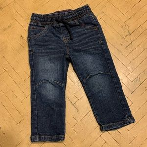Cat & Jack Boys Jeans Size 18M Dark Wash Straight